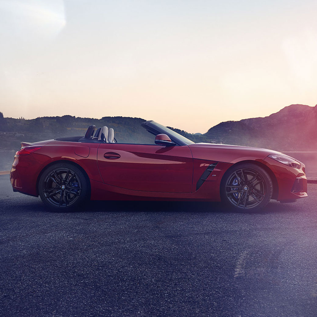 NUOVA BMW Z4 ROADSTER CON WHY-BUY.